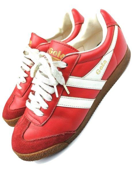true vintage gola sneakers size uk7 issued 2003