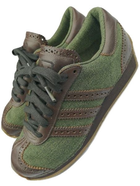 Deadstock adidas country tweed stitch 2003 trainers UK 5