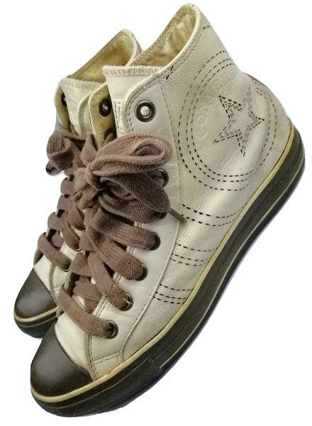 true vintage very rare converse hightops size uk 7