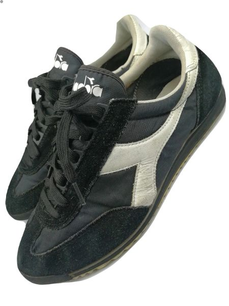 vintage diadora trainers size uk7 issued 2006
