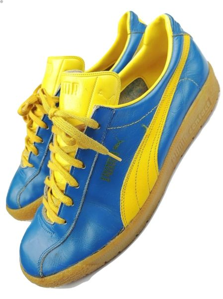 1994 true vintage Puma Contact mens trainers UK 7