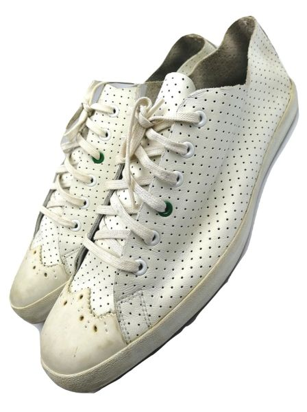 white leather paul smith pumps size 10
