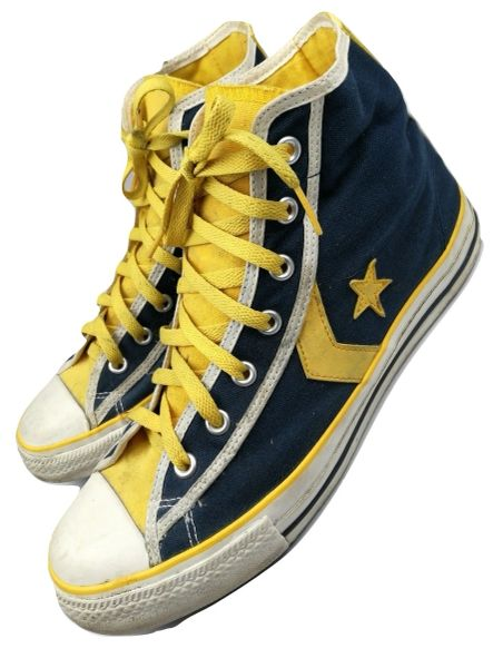 True vintage Converse all star mens high top trainers size UK 11.5