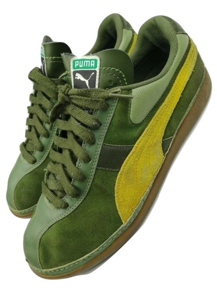 true vintage puma mens trainers sneakers original issue 2002 size uk 8