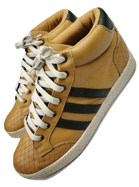 Vintage adidas Chaparal originals high top mens trainers, size UK 9 issued 2006