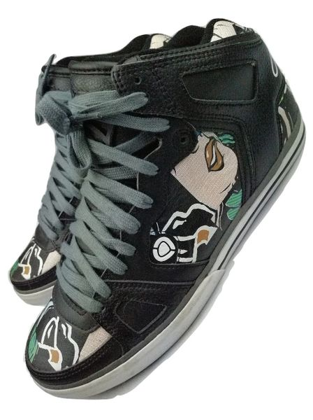 men retro skater sneakers circa size 11 issued 2007