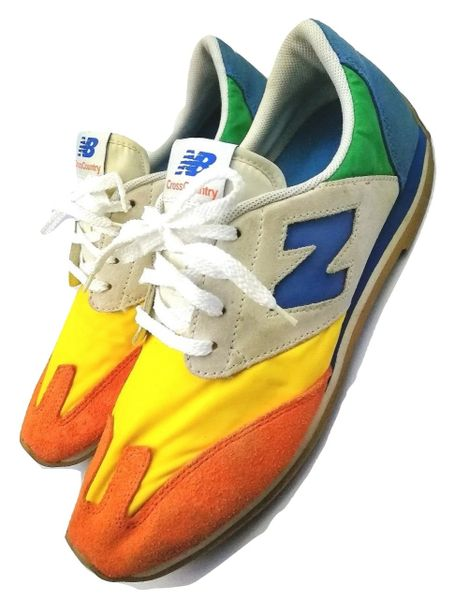 Retro multi colourway New Balance mens trainers issued 2010 size UK 9