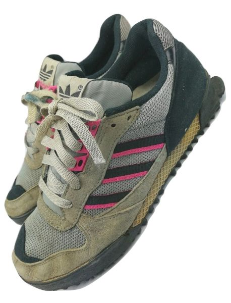 mens true vintage adidas marathon size uk 8.5 originals issued 1990
