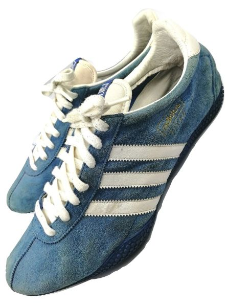 2003 true vintage 80's casual suede trainers adidas titan size uk 11.5