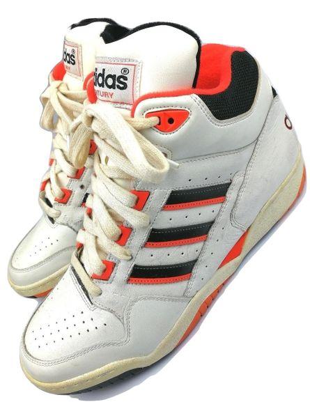 2003 true vintage adidas century hightops UK 7.5