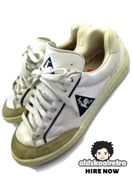 True vintage Le Coq Sportif womens trainers UK 4 1989
