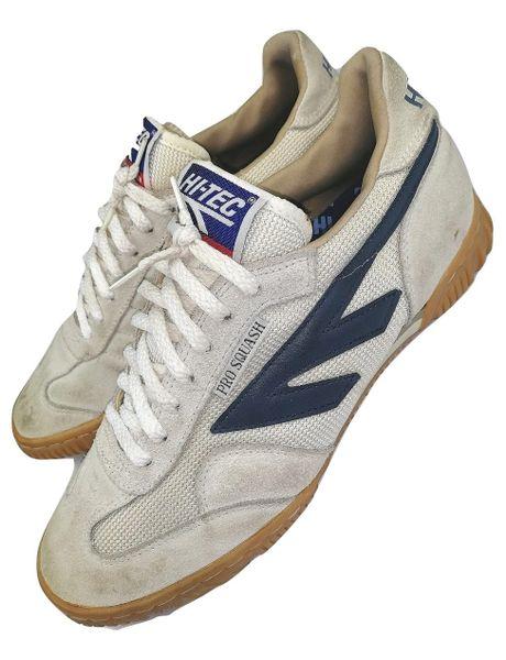 1989 true vintage hi tec Pro squash, mens trainers UK 9