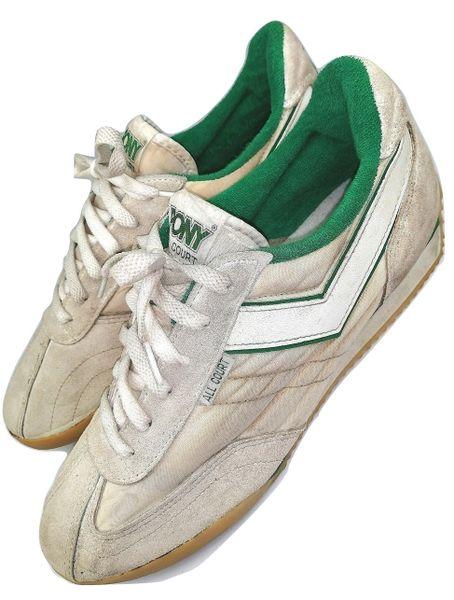 1979 True vintage original Pony Pro court sneakers mens UK 10