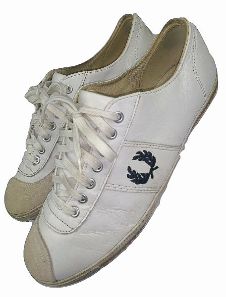true vintage fred perry shoes size uk 10 leather