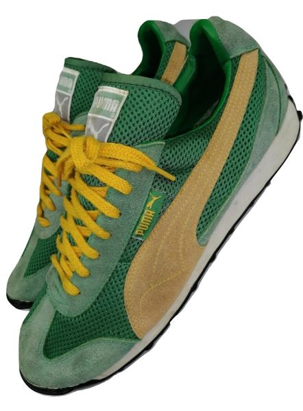 true vintage puma trainers size uk 9 issued 2002
