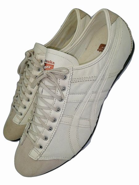 mens onitsuka retro leather pumps size uk8