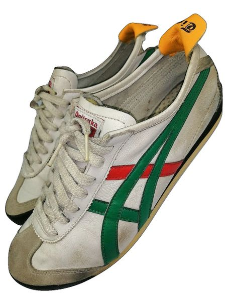 2008 mens onitsuka vintage sneakers, size uk 8