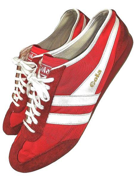 true vintage 2003 gola trainers mens size uk11