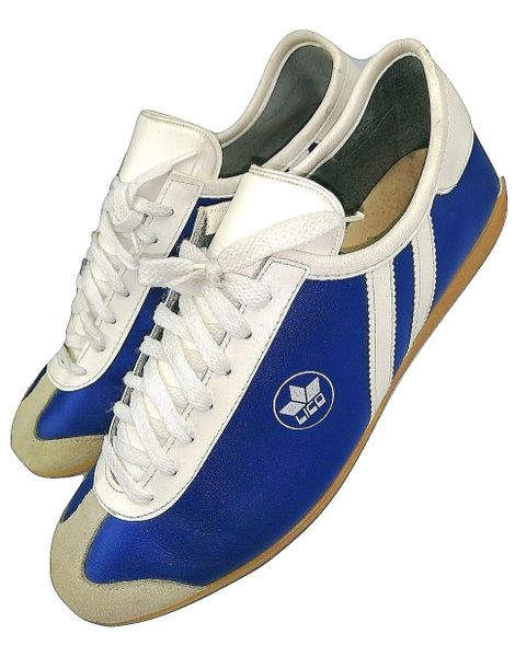 1981 rare true vintage leather lico sneakers UK 10
