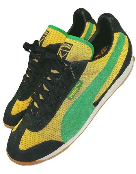 2001 true vintage Puma Jamaica mens trainers size UK 9