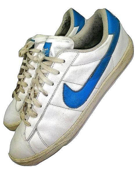 vintage nike trainers tennis shoes size uk 9.5