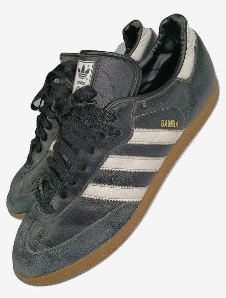 true vintage oldskool adidas samba mens trainers uk 11 issued 2005