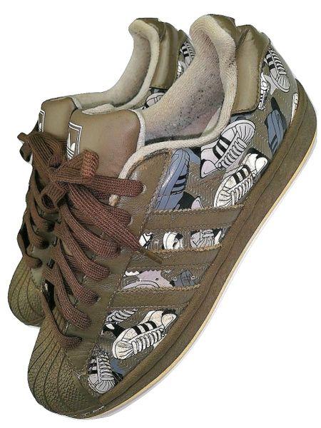 2008 rare leather adidas superstars cameo size UK 8