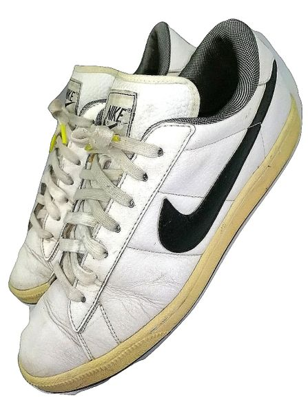 mens vintage nike trainers leather size uk 9