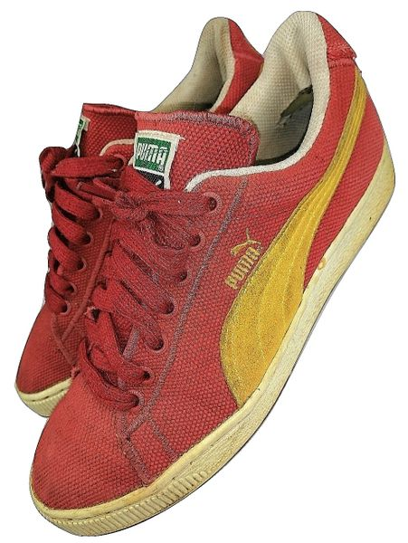 true vintage puma sneakers size uk7 issued 1996
