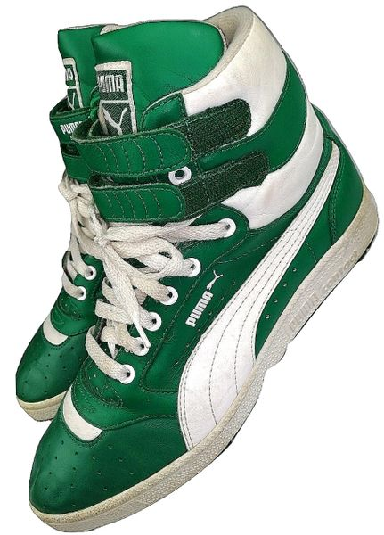 true vintage puma contact high tops mens uk9 issued 2004