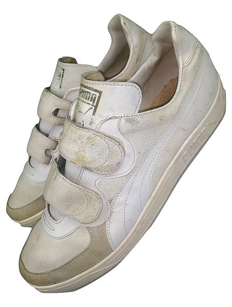 true vintage mens puma sneakers size uk 9.5 original 80's
