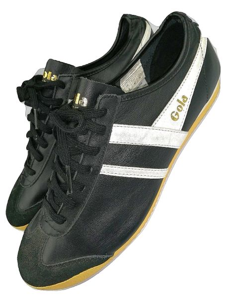 leather gola trainers 40th edition size uk 8