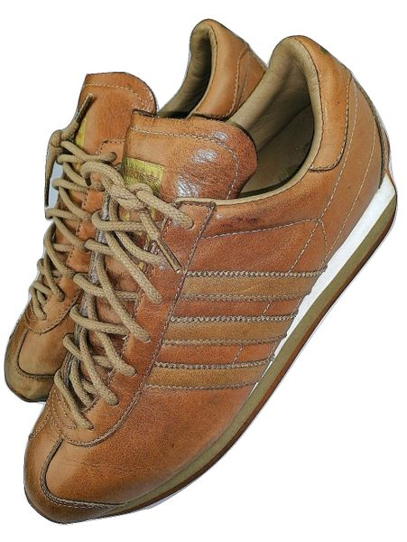 mens true vintage rare adidas trainers size uk 8 issued 2001
