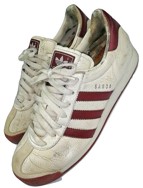 true vintage adidas samoa men's sneakers size uk8 originals 1999