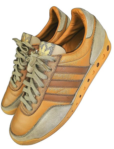 true vintage 2007 first issues adidas PT rare leather uk 10