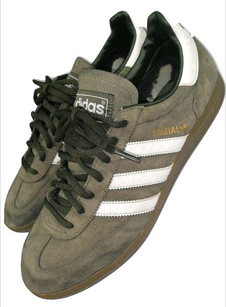 2009 adidas spezials suede sneakers size uk 10.5