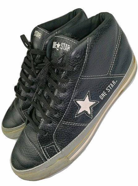 vintage converse one star hightops size uk 7