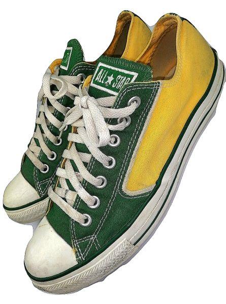 true vintage converse pumps mens size uk 9