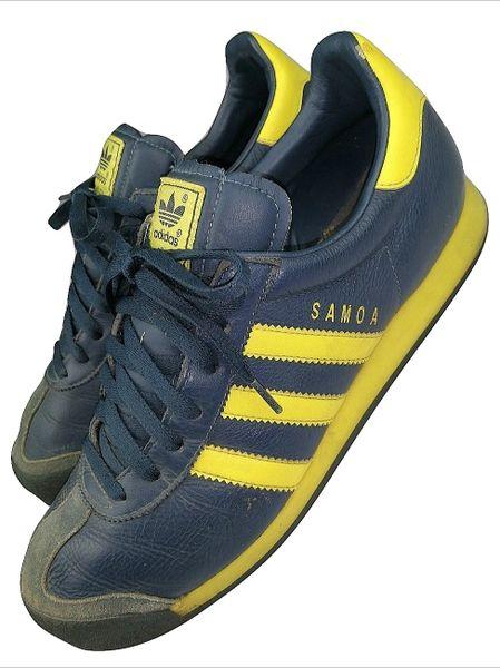 2004 true vintage adidas samoa sneakers UK 9