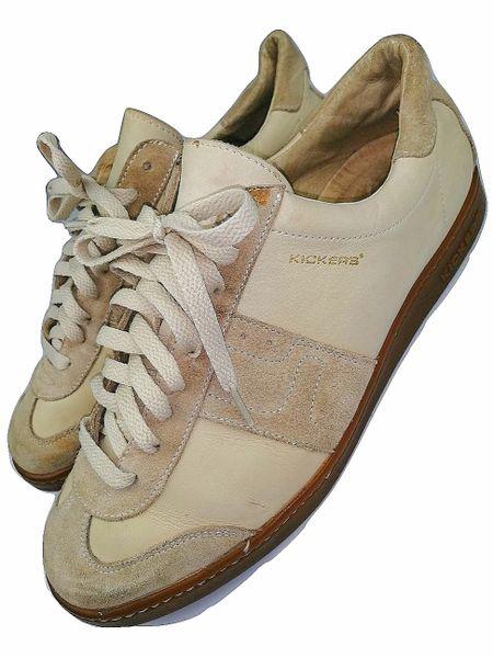 2002 original mens vintage kickers leather shoes size 9.5