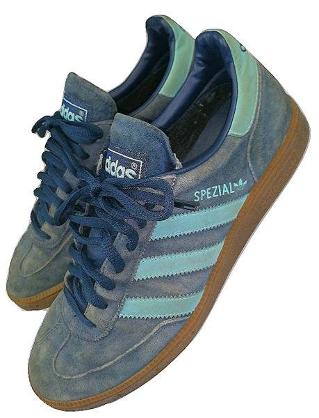 2005 true vintage blue suede adidas spezial size 7.5