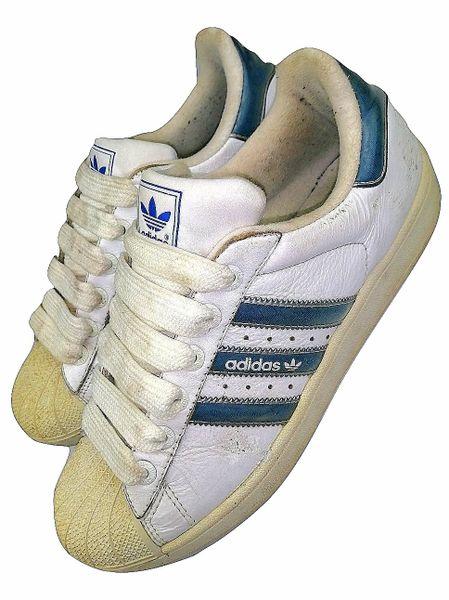 classic oldskool adidas superstars issued 2005 size 8