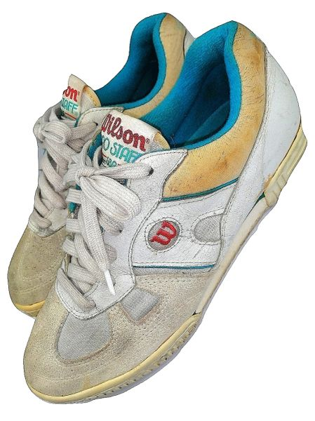 1979 True vintage Wilson Pro staff sneakers UK 9