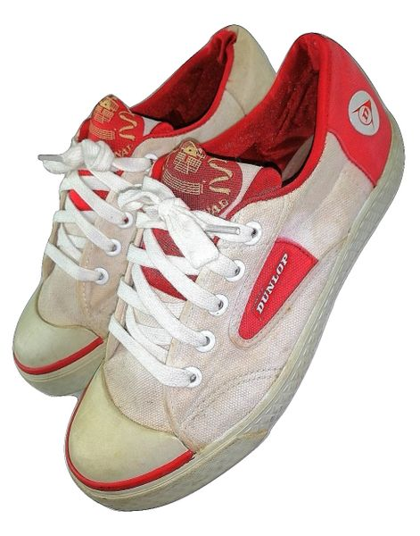 womens 2004 vintage dunlop red flash size 6