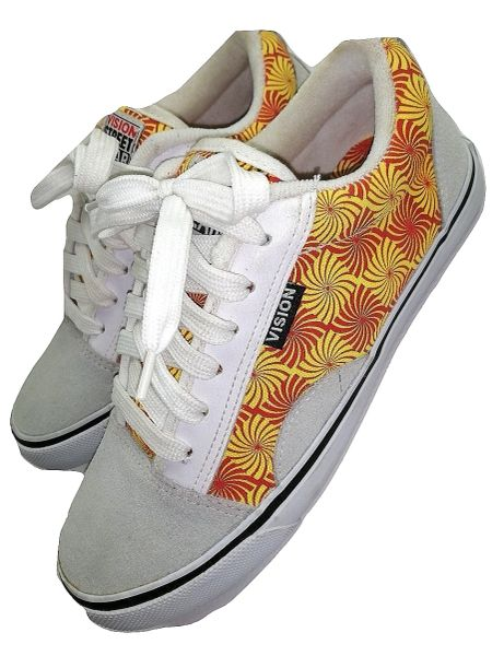 2008 oldskool vision street wear pumps retro pattern