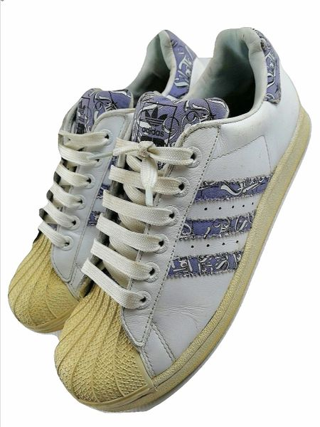 oldskool adidas superstars originals issued 2007 size 5.5