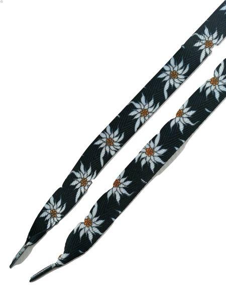 110cm Oldskoolretro flower customised sneaker laces