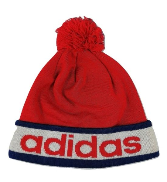 True vintage bobble hat adidas
