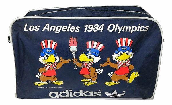 true vintage adidas originals 1984 olympic holdall