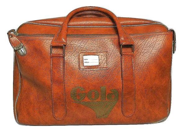 1970's original gola kit bag true vintage classic